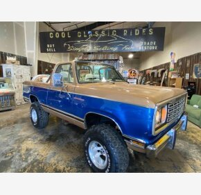 1977 Dodge Ramcharger for sale 101390742