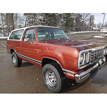1977 Dodge Ramcharger for sale 101445742