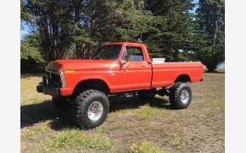 1977 Ford F250 4x4 Regular Cab for sale 101629253