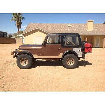 1977 Jeep CJ-7 for sale 101230028