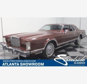 1977 Lincoln Continental for sale 100975665