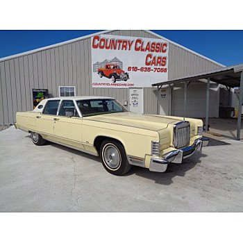 1977 Lincoln Continental for sale 101108848