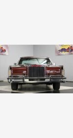 1977 Lincoln Continental for sale 101220488