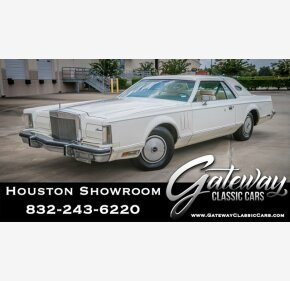 1977 Lincoln Continental for sale 101428891