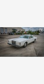 1977 Lincoln Continental for sale 101481884