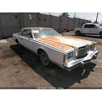 1977 Lincoln Continental for sale 101590210