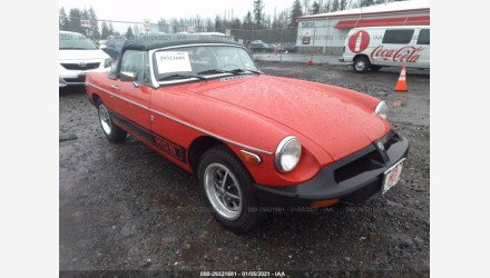 1977 MG MGB for sale 101442282