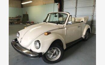 1977 Volkswagen Beetle Convertible for sale 101125068
