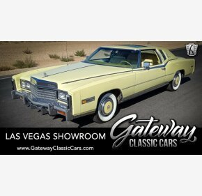 1978 Cadillac Eldorado for sale 101233574