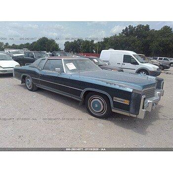 1978 Cadillac Eldorado for sale 101349489