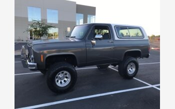 1978 Chevrolet Blazer 4WD 2-Door for sale 101200590