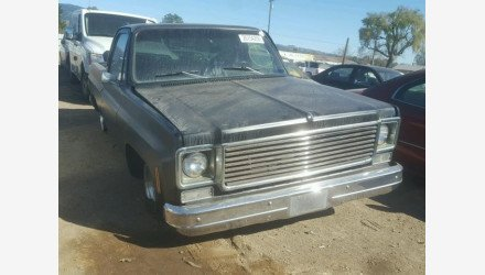 1978 Chevrolet C/K Truck for sale 101063416