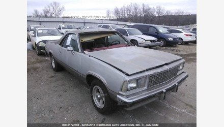 1978 Chevrolet El Camino for sale 101015228