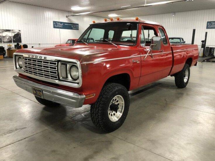 Classic 4×4 Trucks For Sale >> 1978 Dodge D W Truck For Sale Near Holland Michigan 49423