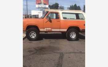 1978 Dodge Ramcharger AW 100 4WD for sale 101456686