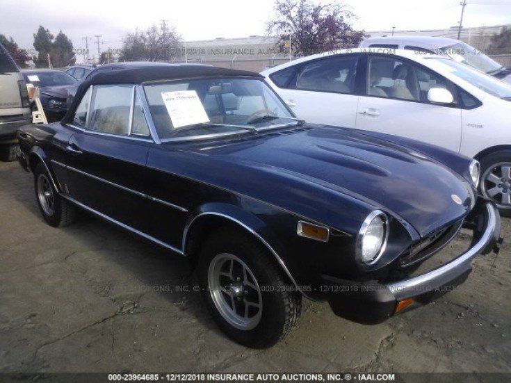 1978 FIAT Spider for sale 101101579