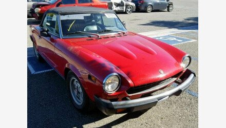 1978 FIAT Spider for sale 101110739