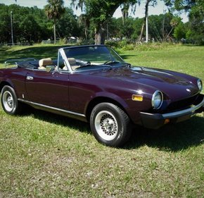 1978 Fiat Spider For 101130236