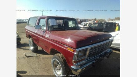 1978 Ford Bronco for sale 101235861