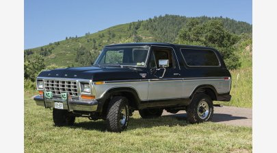 1978 Ford Bronco XLT for sale 101598558