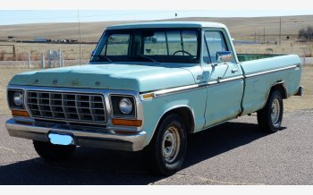 1978 Ford F150 2WD Regular Cab for sale 101245857