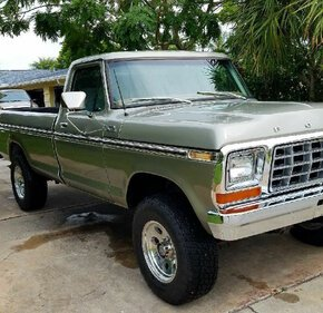 1978 Ford F250 4x4 Regular Cab for sale 101423118