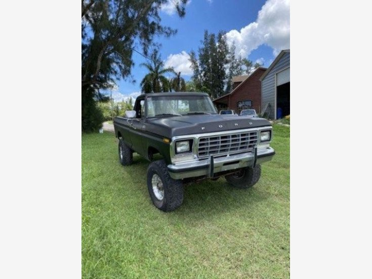 1978 Ford F250 4x4 Regular Cab for sale 101551163