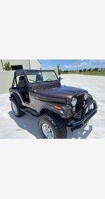 1978 Jeep CJ-5 for sale 101355751