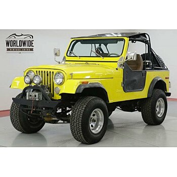 1978 Jeep CJ-7 for sale 101214072