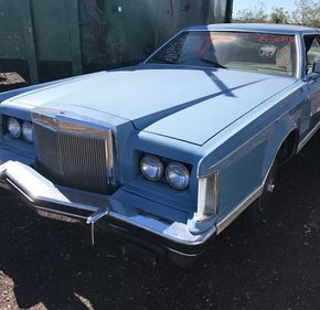 1978 Lincoln Continental for sale 101060560