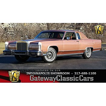 1978 Lincoln Continental for sale 101076980