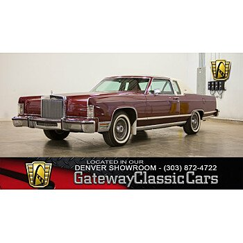 1978 Lincoln Continental for sale 101087495