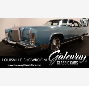 1978 Lincoln Continental for sale 101266175