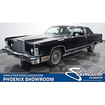 1978 Lincoln Continental for sale 101381263