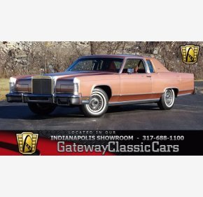 1978 Lincoln Continental for sale 101411824
