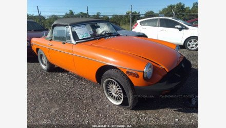 1978 MG MGB for sale 101321027