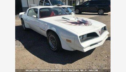 1978 Pontiac Firebird for sale 101112914