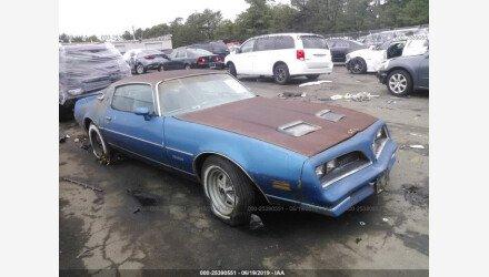 1978 Pontiac Firebird for sale 101161317