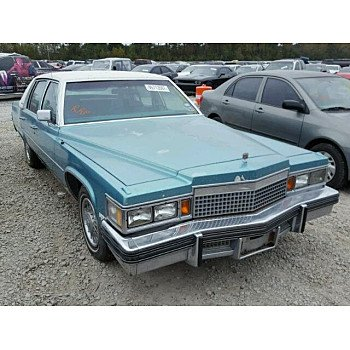 1979 Cadillac De Ville for sale 101026658
