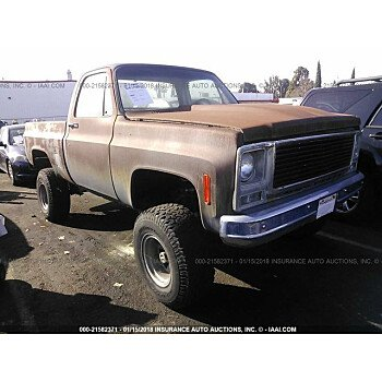 1979 Chevrolet C/K Truck for sale 101015042