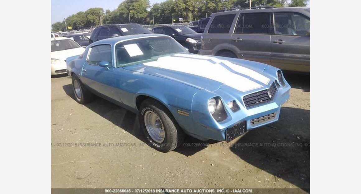 1979 Chevrolet Camaro for sale 101015229
