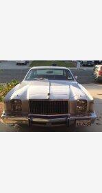 1979 Chrysler Cordoba for sale 101072662