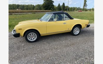 1979 FIAT 124 Convertible for sale 101598623