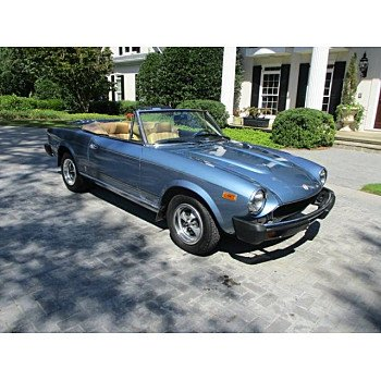 1979 FIAT Spider for sale 101205568