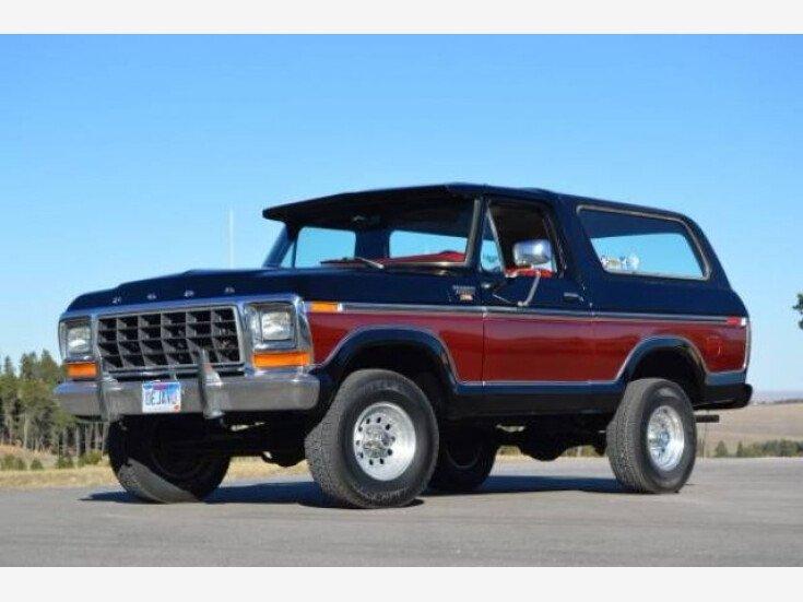 1979 Ford Bronco For Sale Near Cadillac Michigan 49601