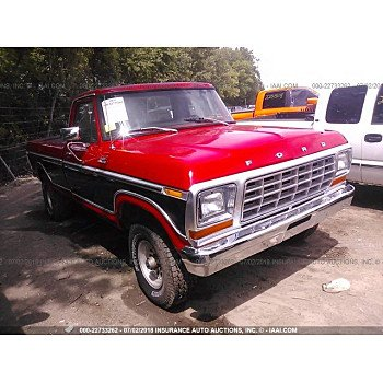 1979 Ford F150 for sale 101016137