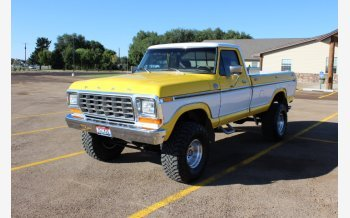 1979 Ford F150 4x4 Regular Cab for sale 101207640