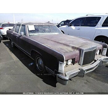 1979 Lincoln Continental for sale 101102557