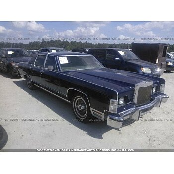 1979 Lincoln Continental for sale 101157688