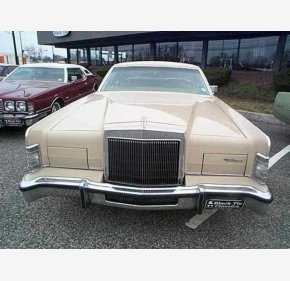 1979 Lincoln Continental for sale 101185553
